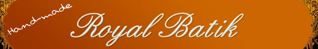 royal batik バチック バティック 商品ページバナー